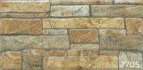 Porcelana 3D Antique Stone Exterior Wall Tile (200X400mm)