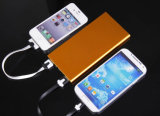 MetallPolished Edge 8000mAh Portable USB Charger Fit für Universal Power Bank