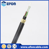 Prezzo di fibra ottica autosufficiente del cavo di 96 memorie di ADSS G652D FRP per tester