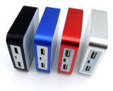 Cargador 7800mAh 5V 2A de la batería de la potencia del bloque de salida de Duoal de la muestra libre