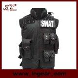 Swat Airsoft Wargame Tactical Combat Asalto chaleco de Policía