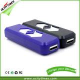 Alumbrador eléctrico del USB del cigarrillo de los accesorios del color opcional del precio de fábrica que fuma