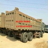 사용된 Military Heavy HOWO Tipper Truck (8*4 타이어, 4-AXLE, 2008Y)
