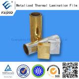 Silber metallisierter Film für das Papierlamellieren