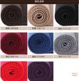 Шарф зимы шерстей цвета равнины способа людей акриловый связанный (YKY4619)