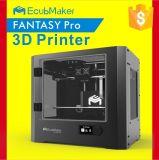 Ecubmaker Impressora 3D com o filamento Heated das opções 1.75mm da base