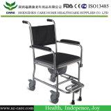 プラスチックバケツの医学の整理ダンスの椅子の洗面所の軸受け鍋が付いている便座の椅子