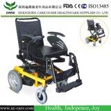 Sedia a rotelle d'elevamento di qualità superiore di potere con la pagina Cotroller
