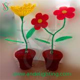 LED-Motiv-Leuchte-künstliche Blumen-Sonnenblume-Leuchte 2016