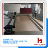 Sublimation Tissue Paper auf Rotary Calander/Roller Heat Press Machine
