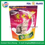 Standup Verpakkende Zak van het Voedsel voor huisdieren van het Voedsel Met Ritssluiting