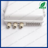 1X16 PLC Cassette Card Splitter Fibra Óptica Junction Terminal Box