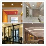 Алюминиевой потолок панели освещения установленный поверхностью СИД ODM OEM изготовления светильника энергии сбережения квадратной напольной светлый