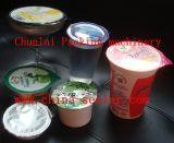 De Vullende en Verzegelende Machine van de plastic Kop van de Yoghurt