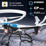 compas gyroscopique de l'axe 2.4G 6 RC Quadcopter avec l'appareil-photo de HD 2.0MP