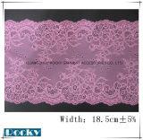 숙녀를 위한 Underwear Width 중국 최고 가격 레이스 손질 17.5cm