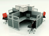 Het in het groot Modulaire Werkstation van de Verdeling van de Cellen van het Bureau Hoge met het Kabinet van de Bovenkant (HF-YZ801)
