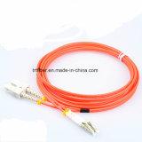 LC/Upc-Sc/Upc 싱글모드 이중 광섬유 접속 코드