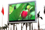 10mm DIP346 RGB Digital Outdoor LED Billboard Advertizing su Pillar
