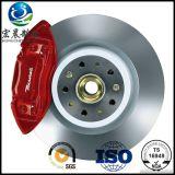 Rotor de frein à disque de haute performance pour Toyota ISO9001