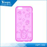 Nieuwe iPhone 6 Matte TPU Case met Faerie Cartoon Pattern