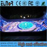 Tela interna do diodo emissor de luz da cor cheia do consumo P4 das baixas energias