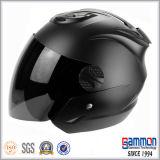 素晴らしいロイヤルブルーの開いた表面オートバイのヘルメット(OP201)