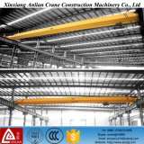 Top de poca potencia Roof Traveling Electric 2 Ton Single Beam Girder Overhead Bridge Crane para Sale