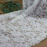 Telas del cordón del ganchillo del algodón del bordado para los accesorios de la ropa