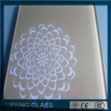 3mm, vidro da Seda-Impressão de 4mm 5mm para o aparelho electrodoméstico