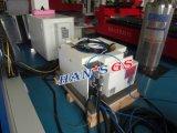 Лазер печатает автомат для резки на машинке CNC с двойной платформой