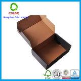 El cartón del rectángulo recicla el empaquetado de la ropa del rectángulo de almacenaje del zapato del rectángulo de papel