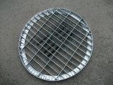 DIP ISO9001 de acero galvanizado en caliente Material de rejilla de acero de la cubierta del Canal