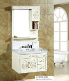 Vanità fissata al muro della stanza da bagno di vanità della stanza da bagno del PVC di disegno moderno