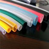 Fabrik, die Belüftung-faserverstärktes flexibles umsponnenes Plastikwasser-hydraulisches Garten-Bewässerung-Rohr-Schlauch-Gefäß verkauft