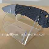 Exposição de faca acrílica mais vendida para venda