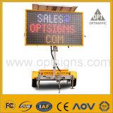 Acoplado móvil accionado solar de la muestra de camino del tráfico del OEM LED VM