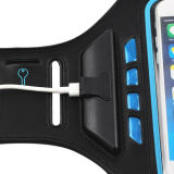 Caisse imperméable à l'eau de téléphone de brassard de sport de Li-Polymère de batterie du néoprène tarifé de brassard