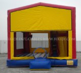 Inflatable congelado Moonwalk Bounce House para Kids, Art Panels Inflatable combinado a los E.E.U.U.