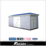 Sous-station de paquet de caisse de transformateur de rendement de fréquence de puissance
