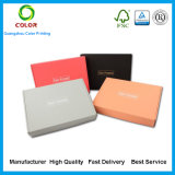 Cuistomized 골판지 색깔 판지 상자 출하 우송 포장 상자