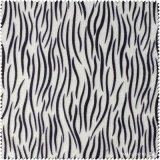 Zebra-Muster PU-synthetisches Leder für Schuhe (CF019120E)