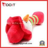 고품질 분홍색 돼지 견면 벨벳 애완 동물 장난감