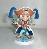 Figura de ação plástica personalizada brinquedo quente dos desenhos animados do Natal da venda ICTI