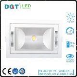 35W Rectangle Recessed Adjustable LED Ceiling Spotlight