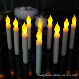 مع [2ا] بطارية صفراء يرفرف عمود شمعة