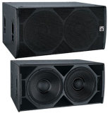 Subwoofer Bass Speakers Dual 18 Speaker Box + Stage Light Sub Bass