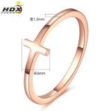 Signora Fashion Ring dei monili dell'acciaio inossidabile