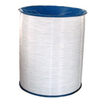 Fil obligatoire galvanisé par nylon de bobine en acier