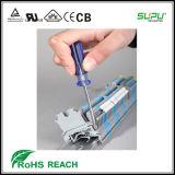 Bloque de terminales de tornillo PCB para carril DIN